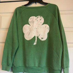 Tops - Green Shamrock Sweatshirt